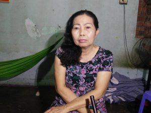 Luật sư Trần Thị Ngọc Nữ quyết tâm hỗ trợ gia đình bé L. về mặt pháp lý.