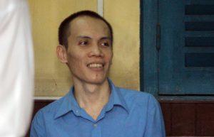 Bị cáo Nguyễn Hữu Hậu tại phiên tòa