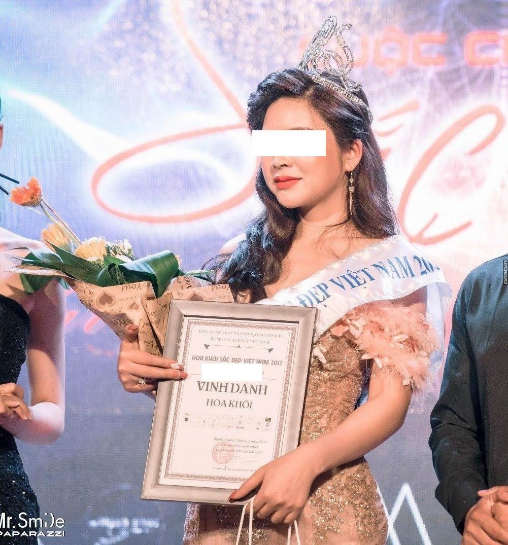Người đẹp bán dâm từng đạt giải cao trong cuộc thi sắc đẹp