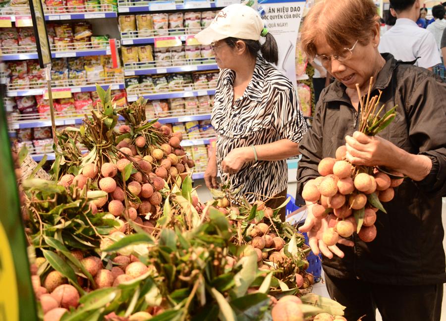 Người dân sài gòn đổ xô đi mua vải tại các hệ thống siêu thị