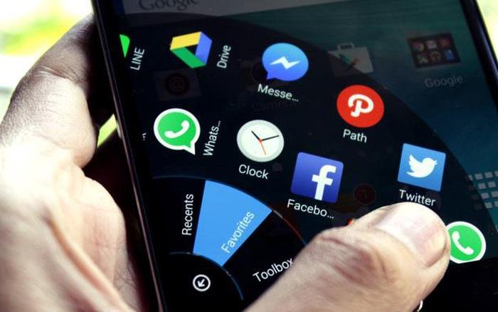 ứng dụng mới xuất hiện trên màn hình smarphone