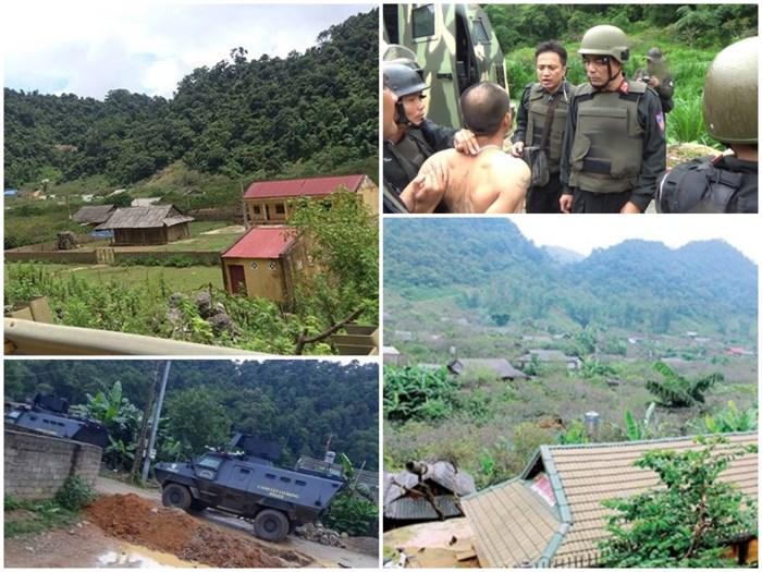Trùm ma túy tại Lóng luông