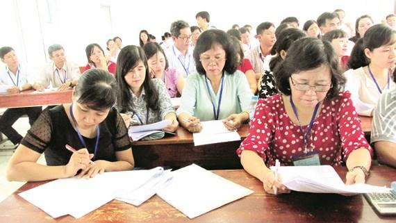 Công bố kết quả chấm thi