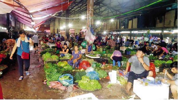Kiểm soát chặt chẽ nông sản tại các chợ đầu mối