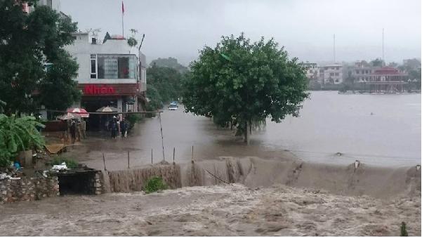 Chủ động ứng phó mưa lũ lớn tại Bắc Bộ