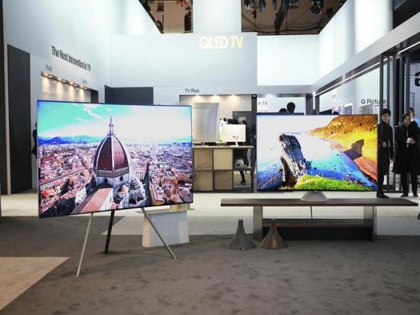 Q7F 2018 mẫu TV màn hình lớn cho gia đình