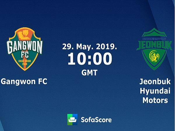 Soi kèo Gangwon vs Jeonbuk Motors, 17h ngày 29/5