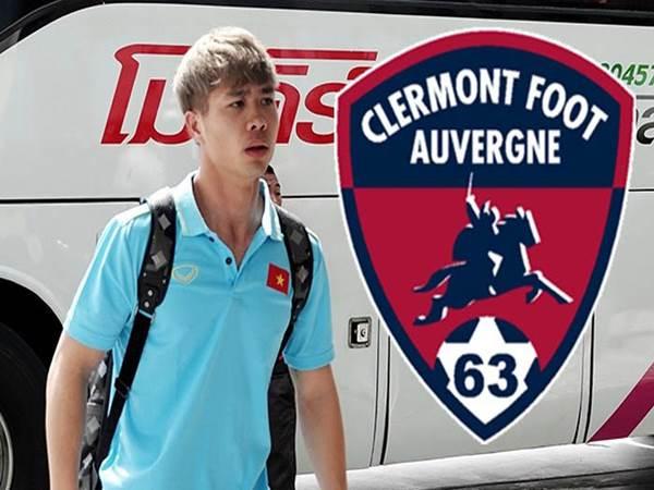 Công Phượng đã đỗ bến tại CLB Clermont Foot thuộc Ligue 2