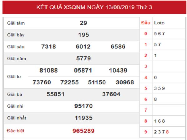 Dự đoán xổ số Tỉnh Quảng Nam ngày 20/08 chuẩn xác