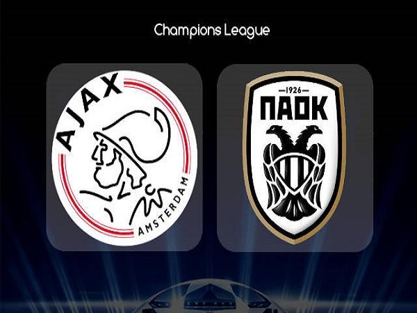Dự đoán Ajax vs PAOK, 1h30 ngày 14/08