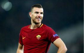 Từ chối Man City, Edin Dzeko gia hạn với AS Roma