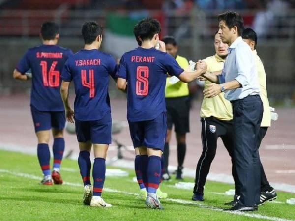 HLV Nishino tự tin cùng Thái Lan vươn lên nhóm hàng đầu châu lục
