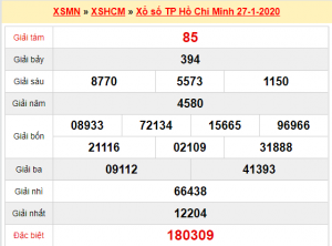 Dự đoán xổ số hcm ngày 01/02 của các chuyên gia