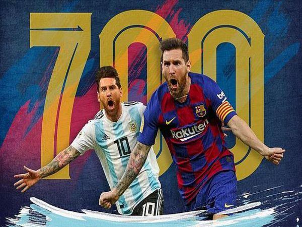 Messi cán mốc 700 bàn thắng bằng cú panenka