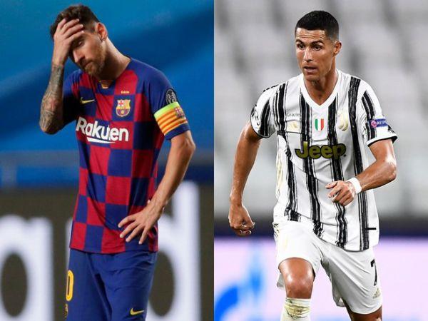 Tin bóng đá chiều 15/8: Dấu hiệu cho thấy Messi và Ronaldo đã hết thời