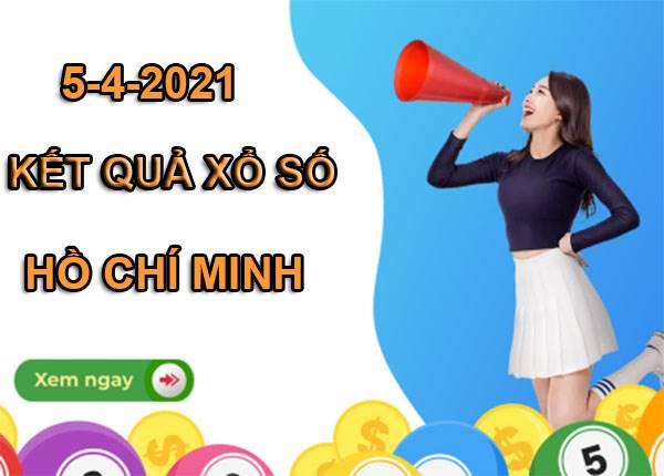 Thống kê sổ xố Hồ Chí Minh thứ 2 ngày 5/4/2021